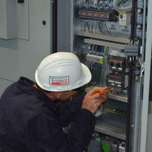 Trident Controls Electrical Control Board Installation